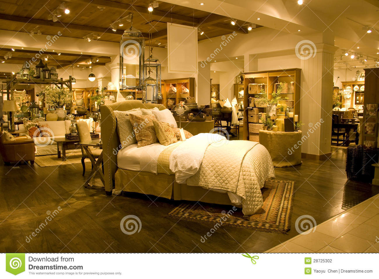 Furniture Store Stock graphy Image