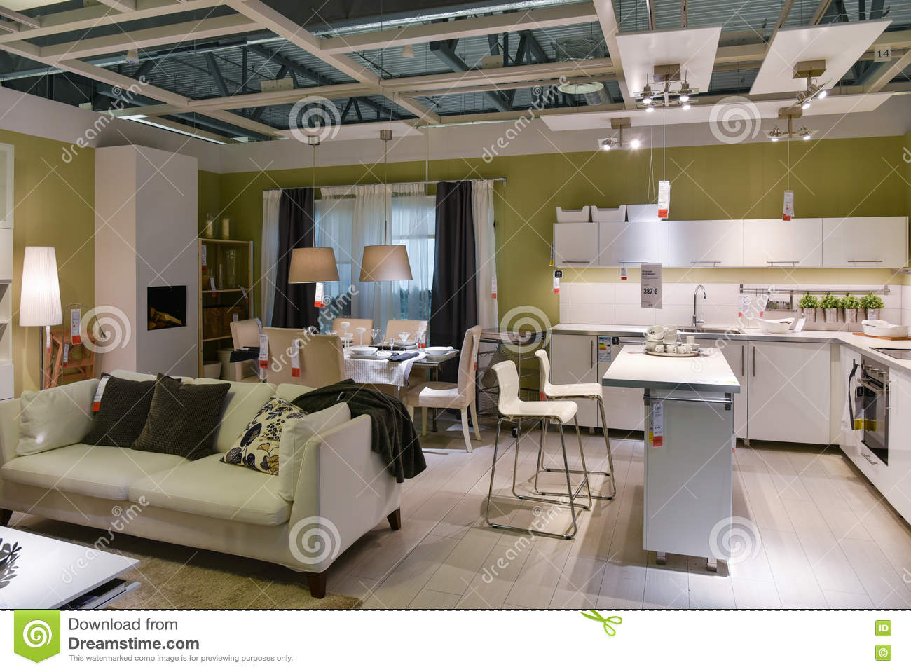 Furniture Store Home Interior Ikea Editorial Photography Image 76905342