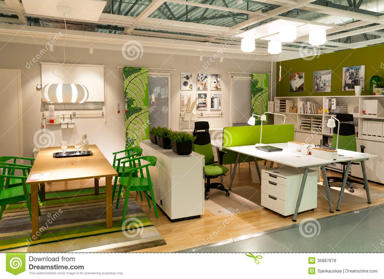 Furniture store Ikea editorial stock photo Image of design