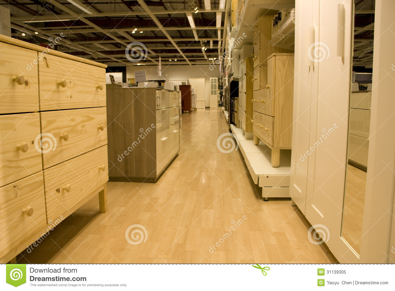 Furniture Store Royalty Free Stock Image