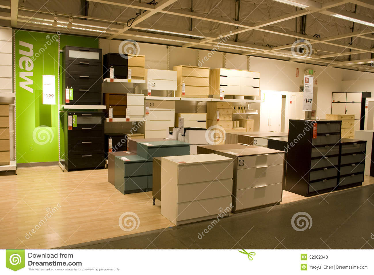 Furniture store editorial stock photo image 32362043 for Furniture warehouse seattle