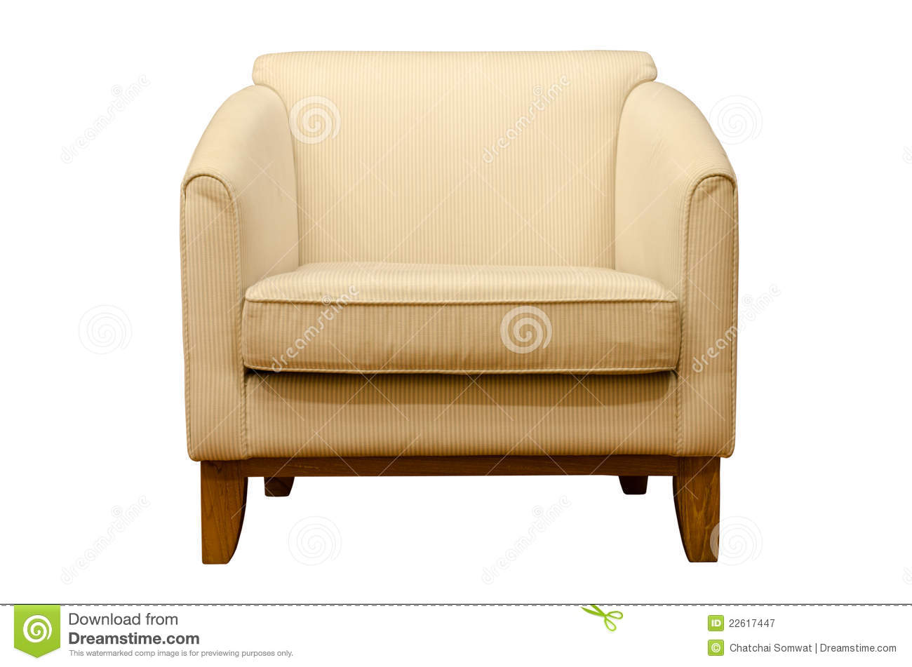 Furniture On White Background Royalty Free Stock