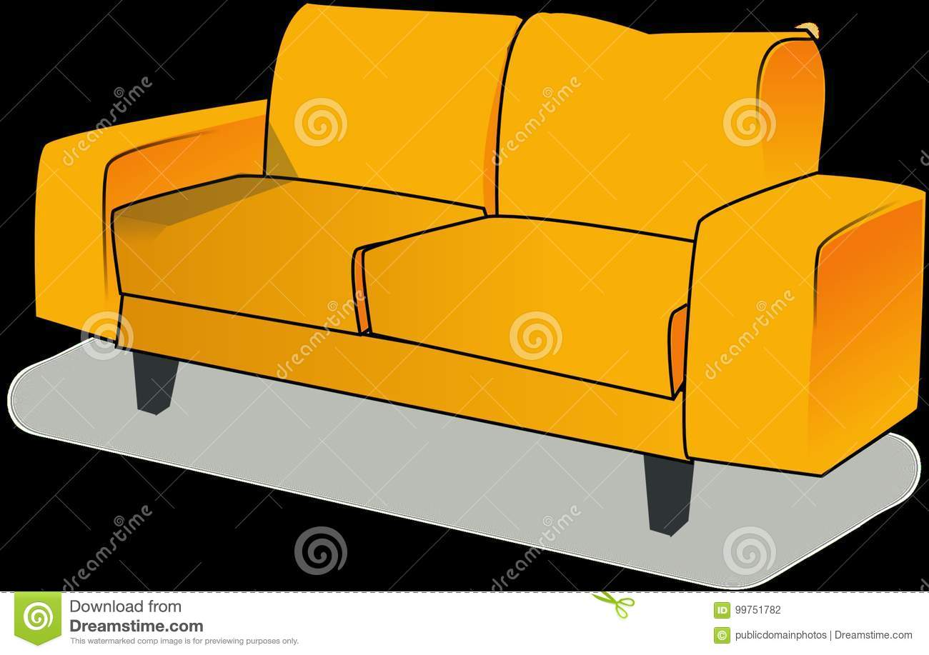 Incredible Furniture Yellow Couch Orange Picture Image 99751782 Caraccident5 Cool Chair Designs And Ideas Caraccident5Info