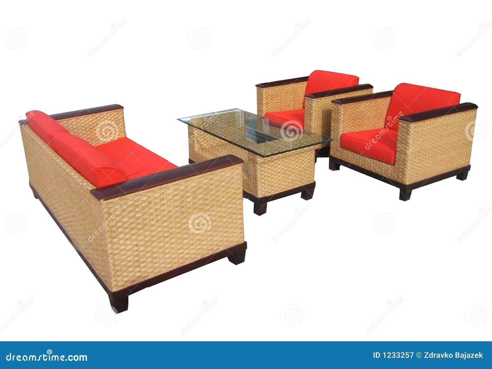 Furniture08 royalty vrije stock fotografie afbeelding 1233257 - Sofa hars gevlochten buitenkant ...
