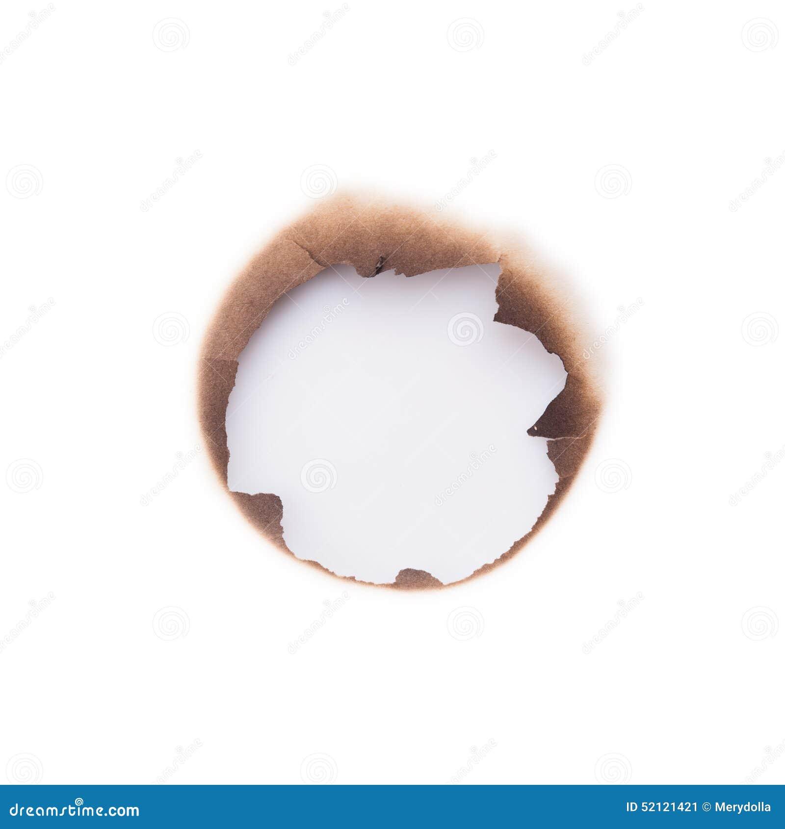 Furo queimado