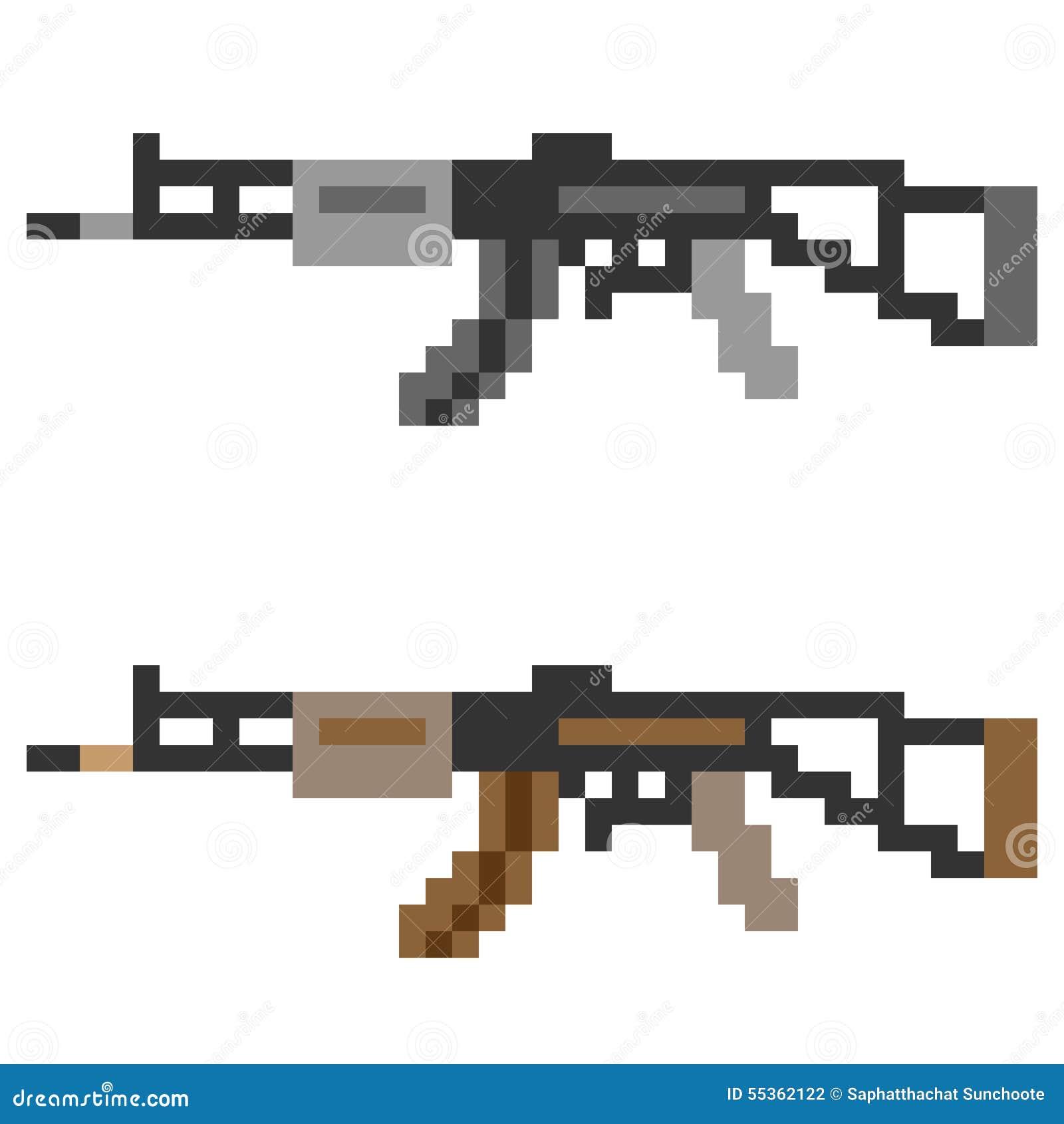 Pixel Art Arme