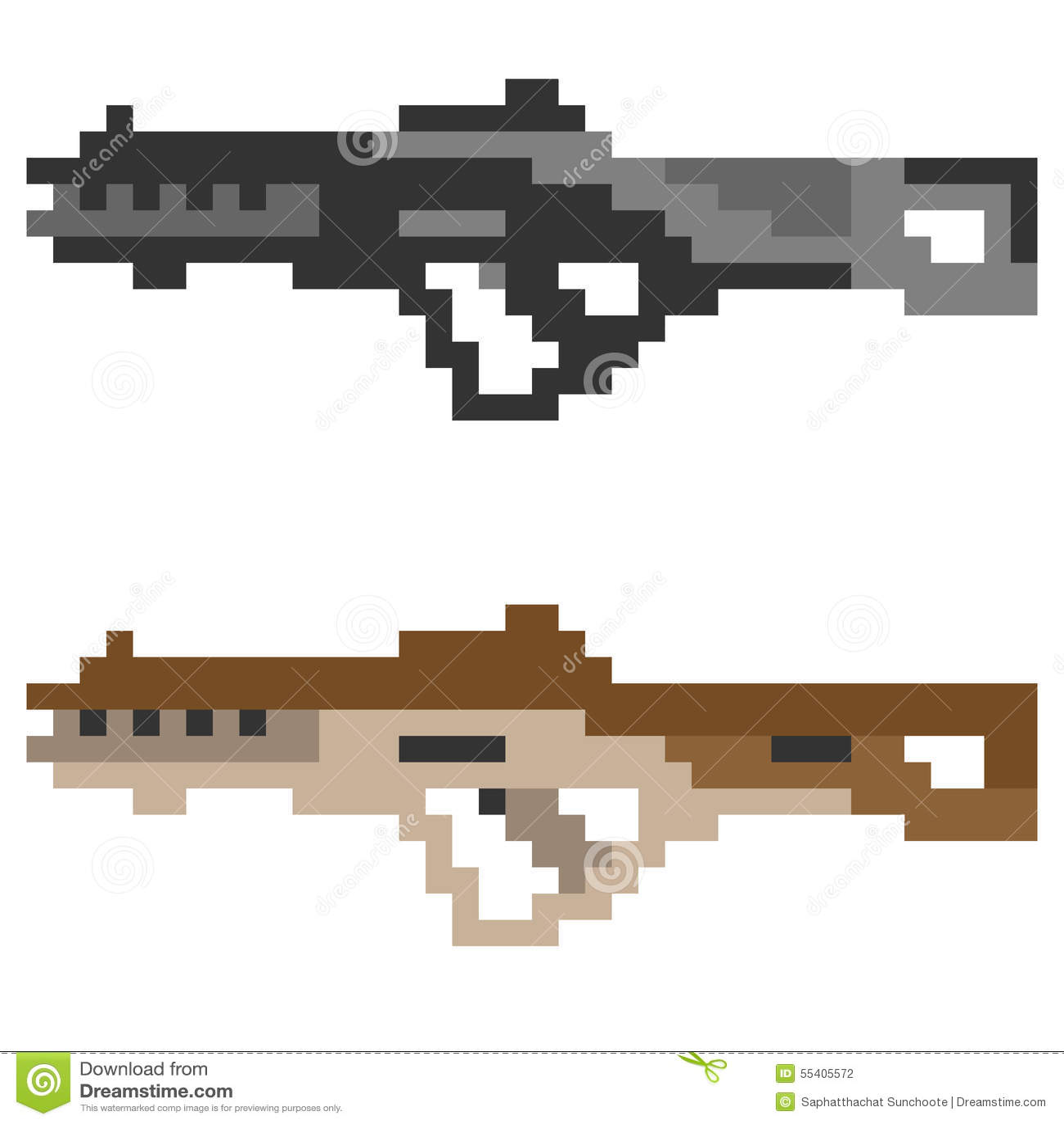Dessin Pixel Minecraft Arme