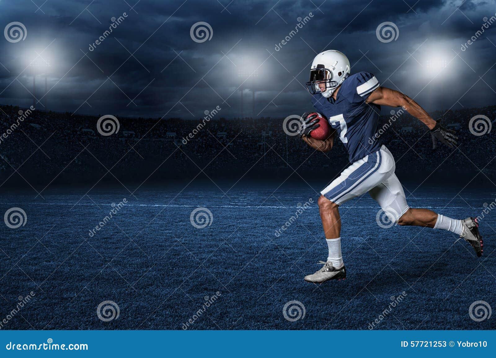 Futbol Amerykański akci Gemowa fotografia