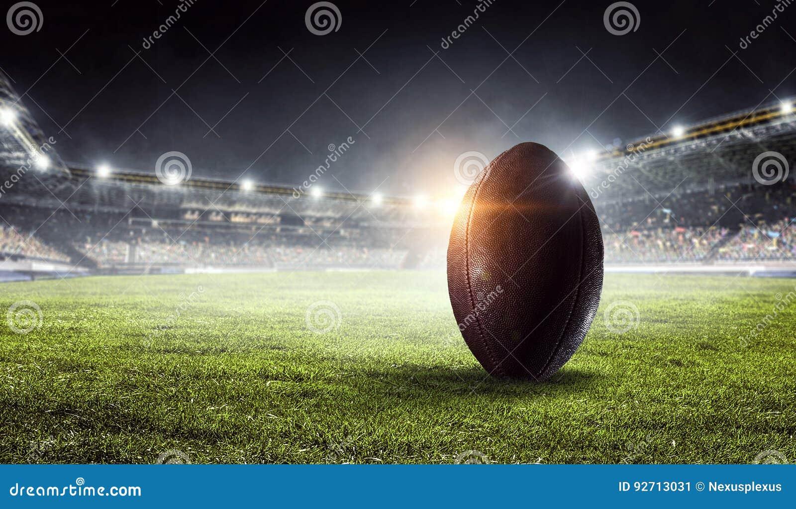 Futbol amerykański arena Mieszani środki Mieszani środki