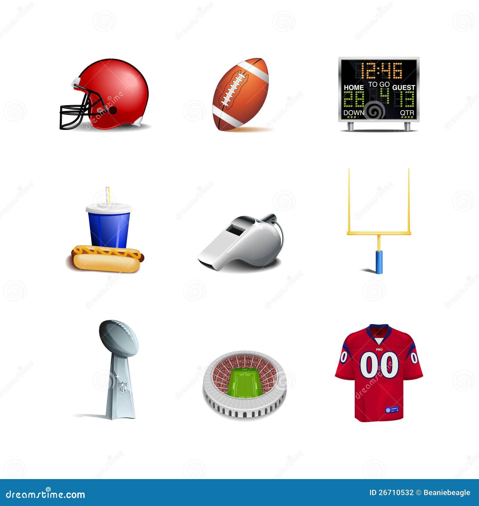 Futbol Amerykański Ikony