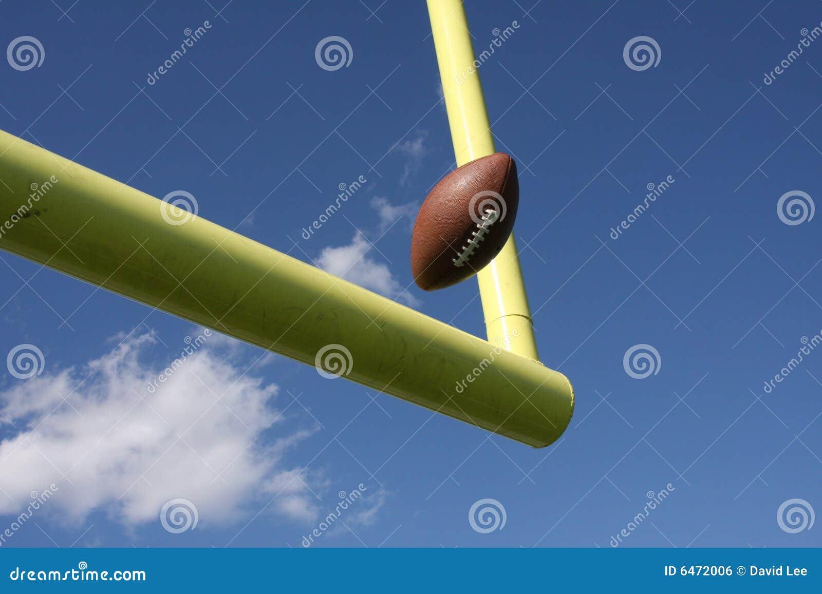 Futbol kopnięci uprights