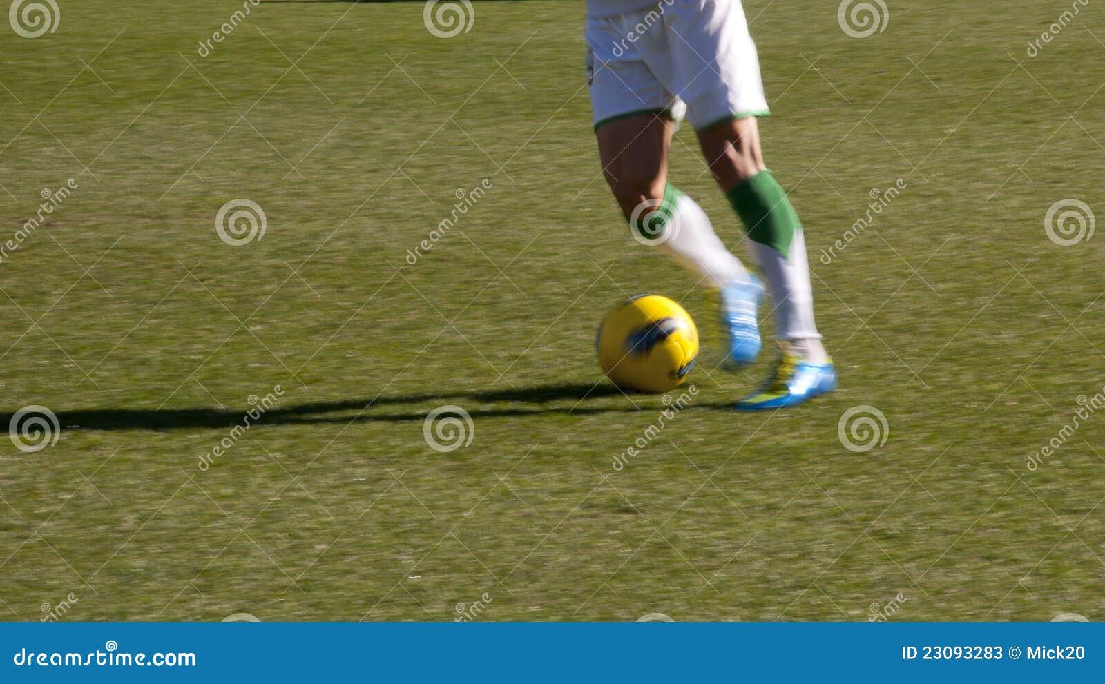 Futbolista nogi