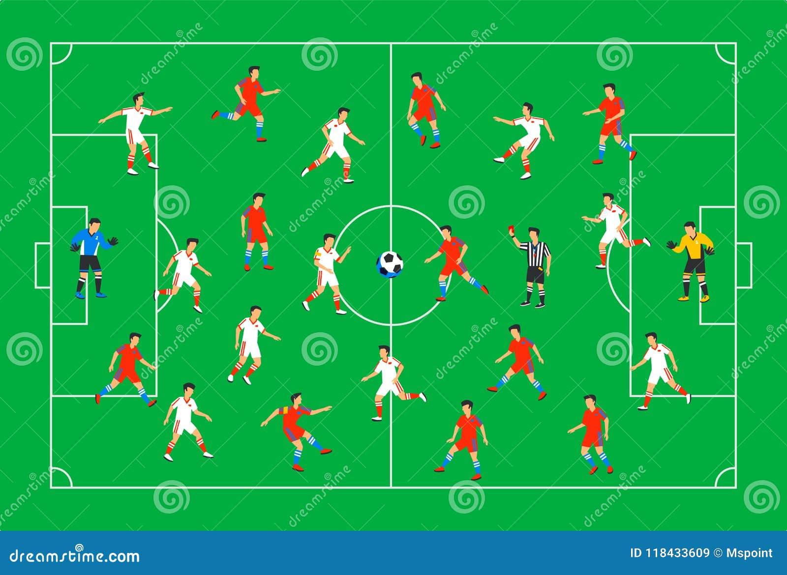 Posiciones de futbol