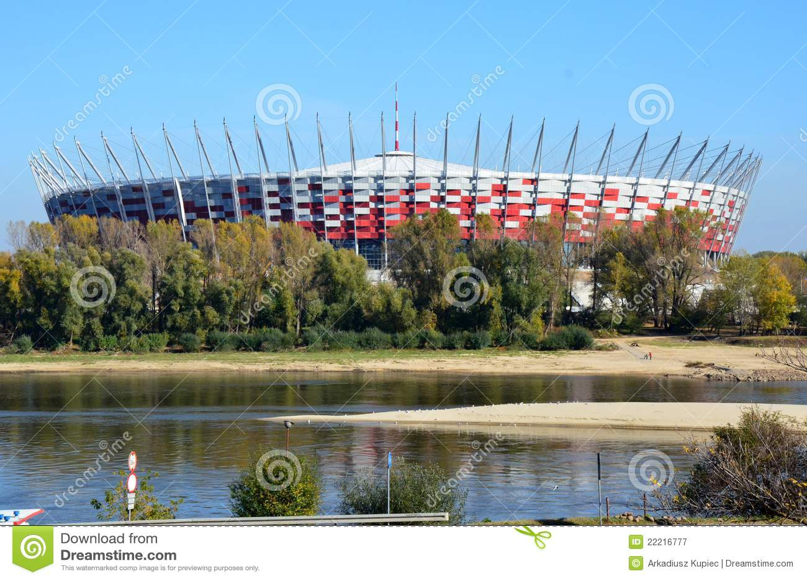 Futbolowy krajowy stadium