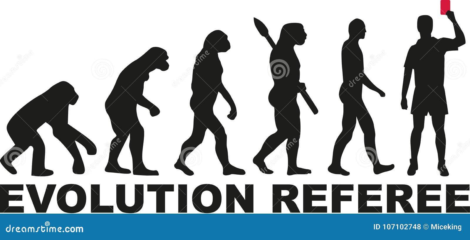 Futebol Do árbitro Da Evolução Ilustração do Vetor - Ilustração de ... 27ba0f5252230
