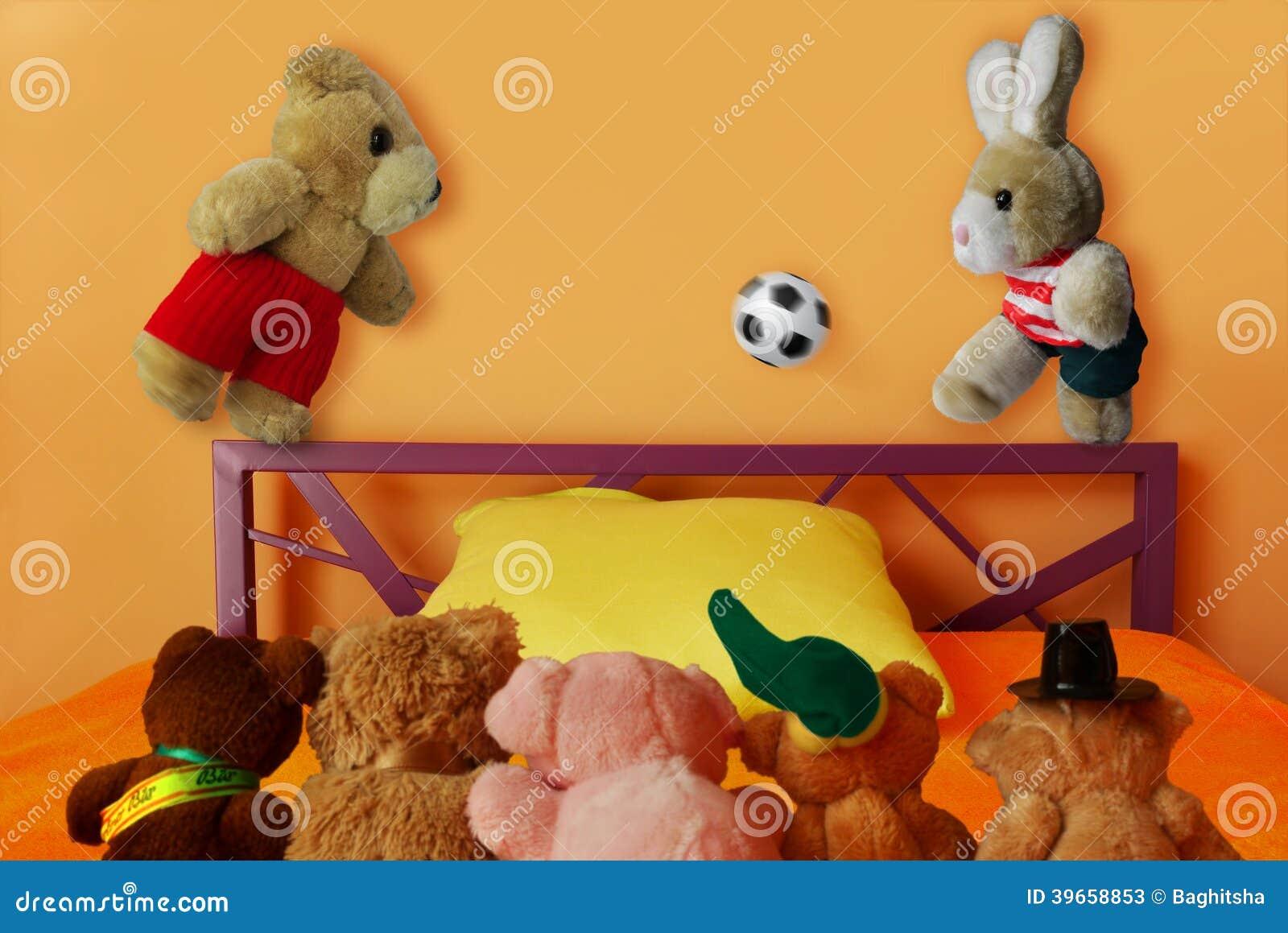 Futebol macio do futebol dos brinquedos