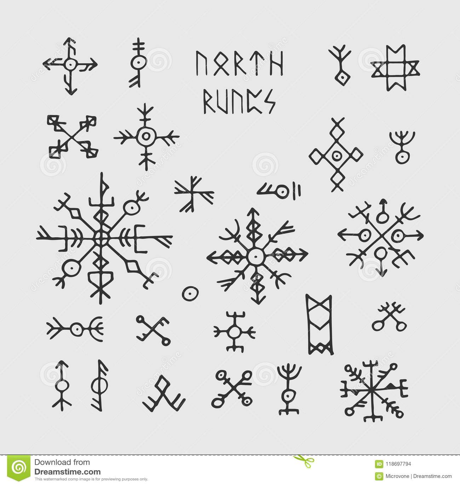 Futhark Norse Viking Runes And Talismans Nordic Pagan