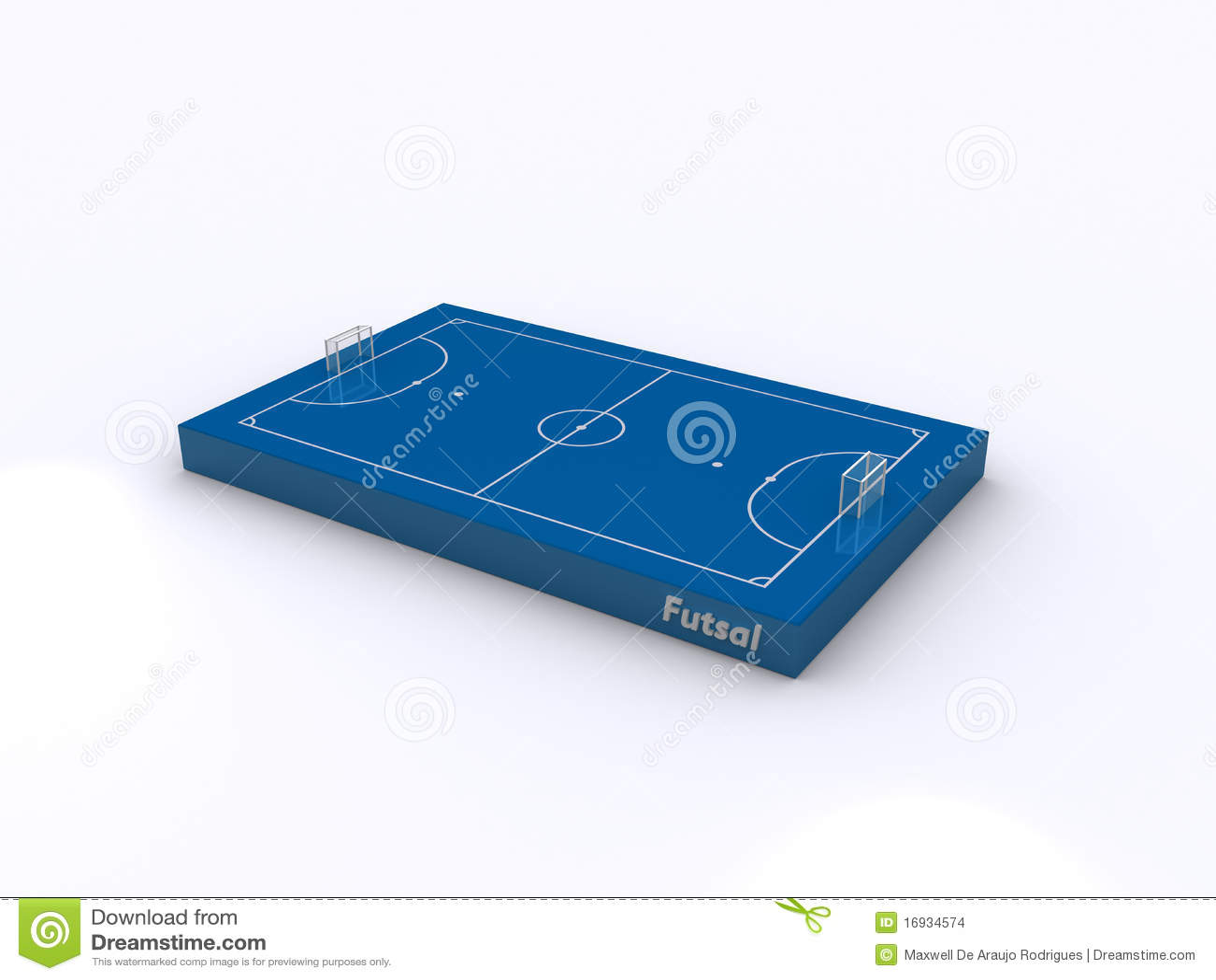 Futsal court icon