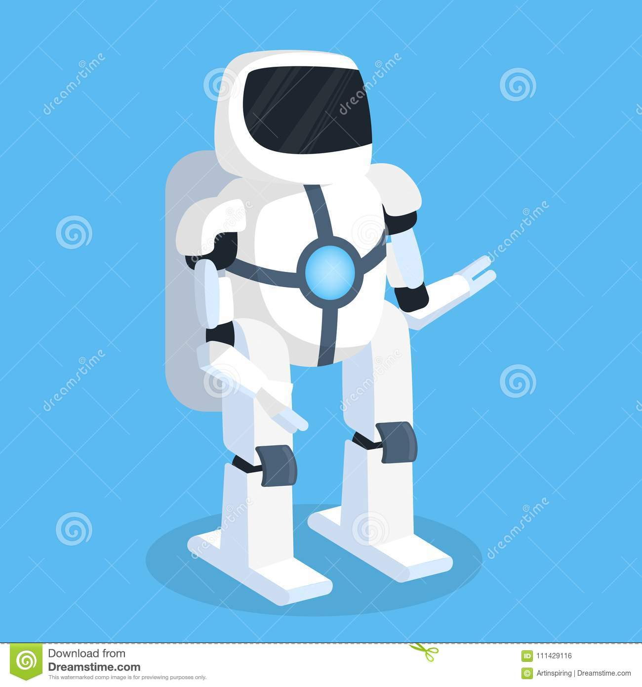 Futur robot d isolement