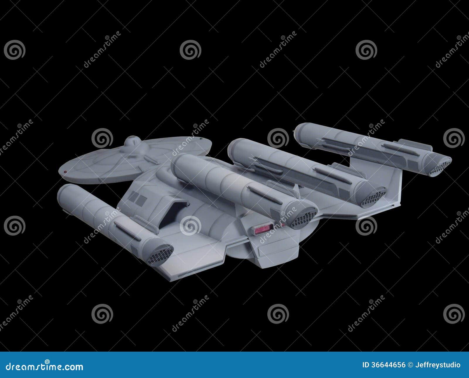 Futuristic spacecraft designs