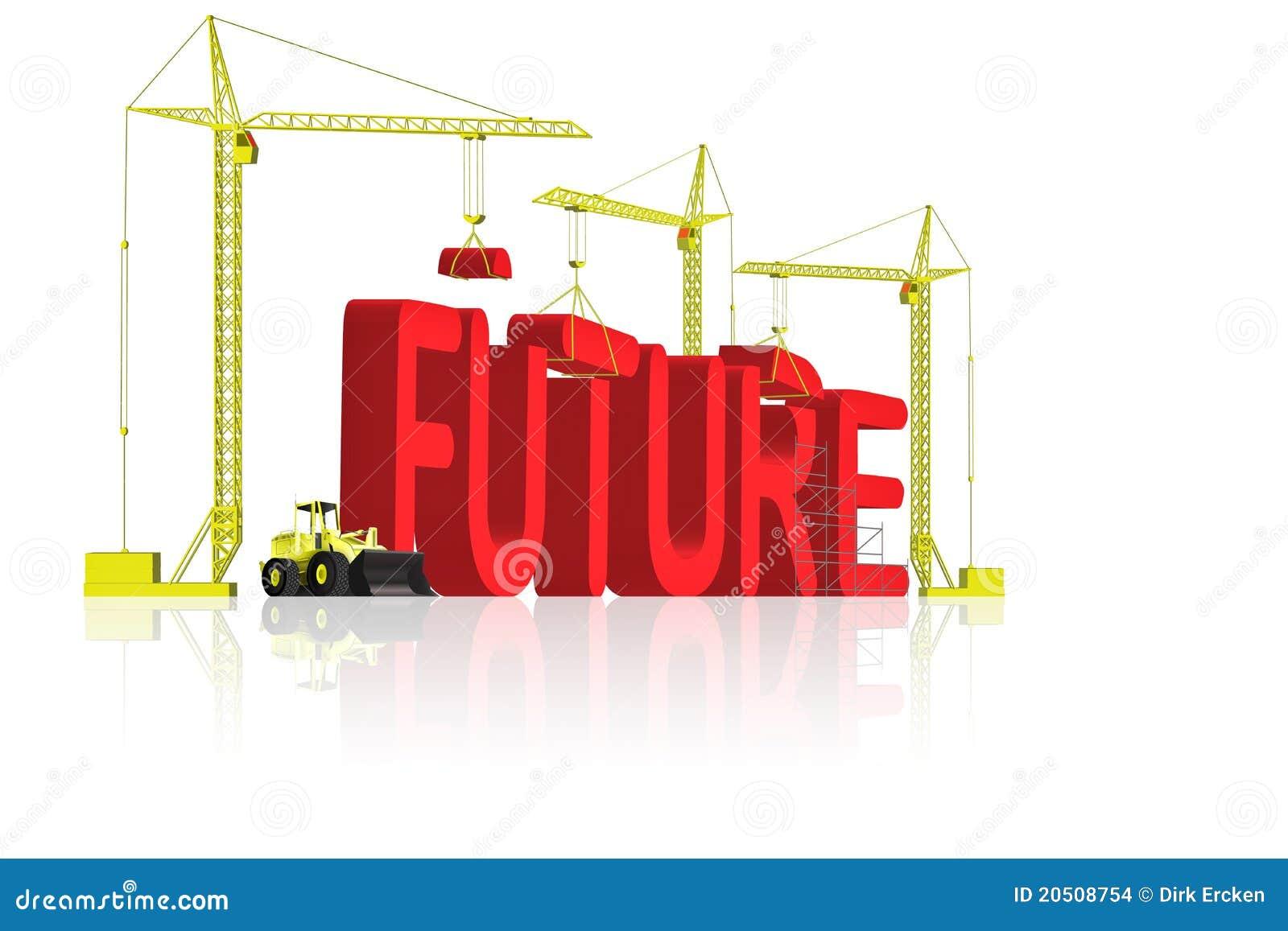 Future build your dream stock illustration illustration for Dream house builder online free