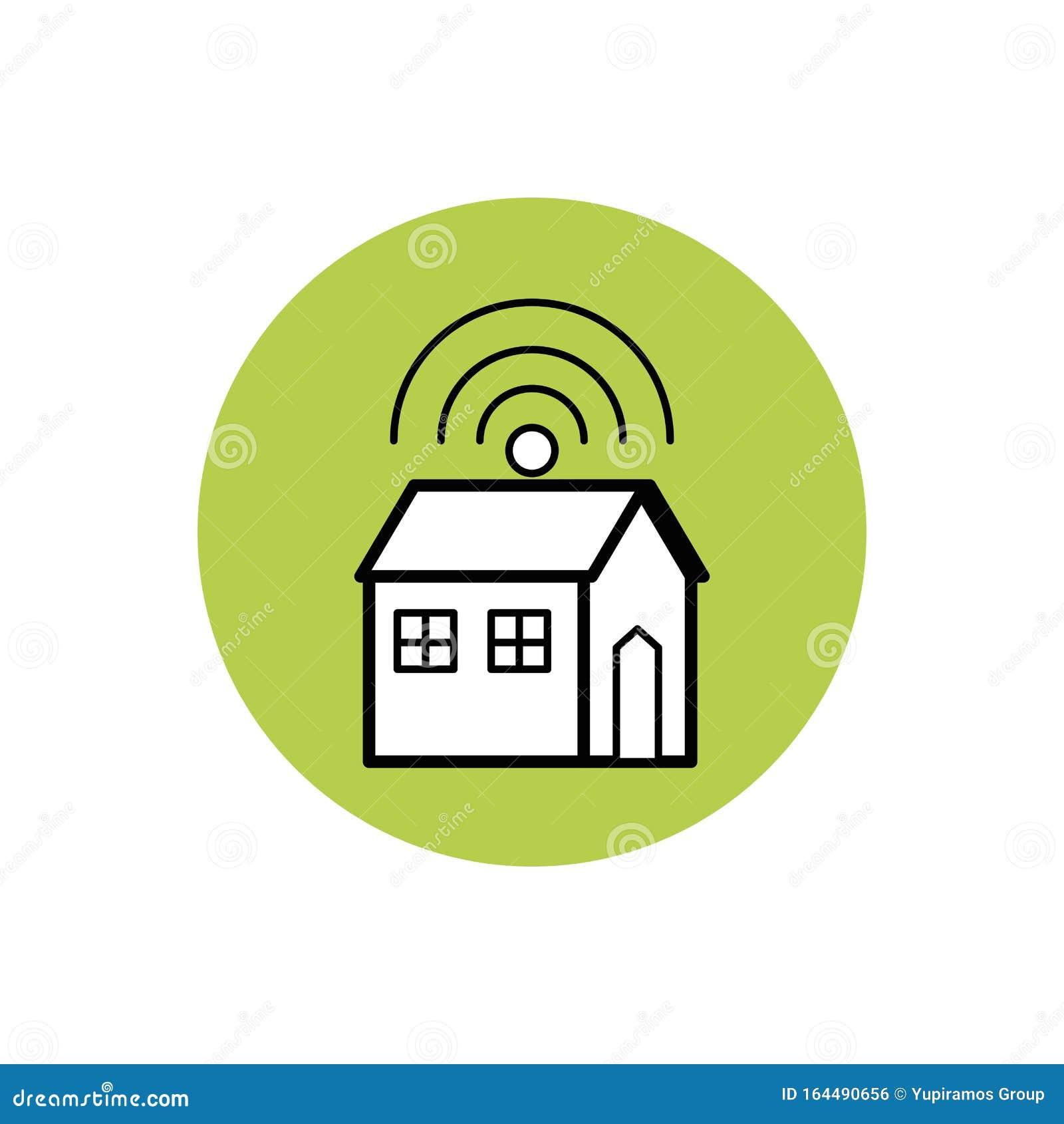 Future House Icon Block Design Stock Vector Illustration Of Icon Vector 164490656