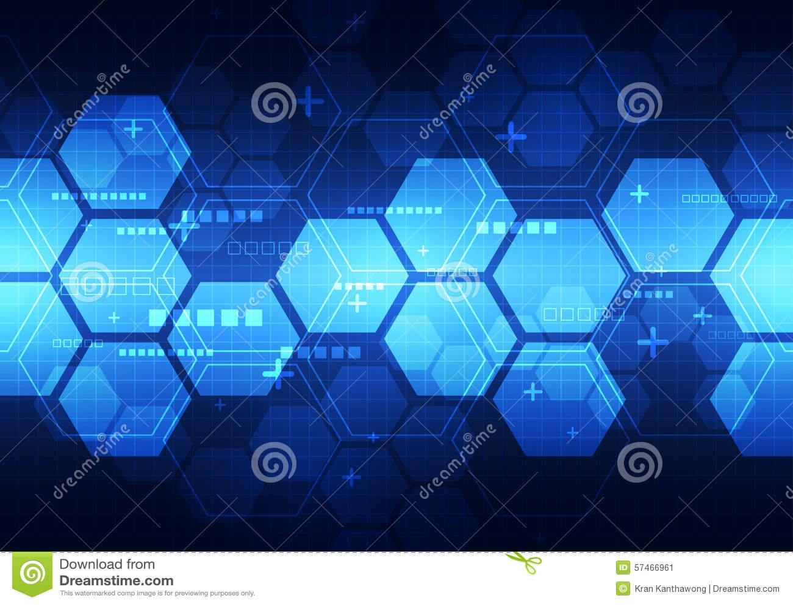 Future illustration de fond de concept de technologie de vecteur abstrait