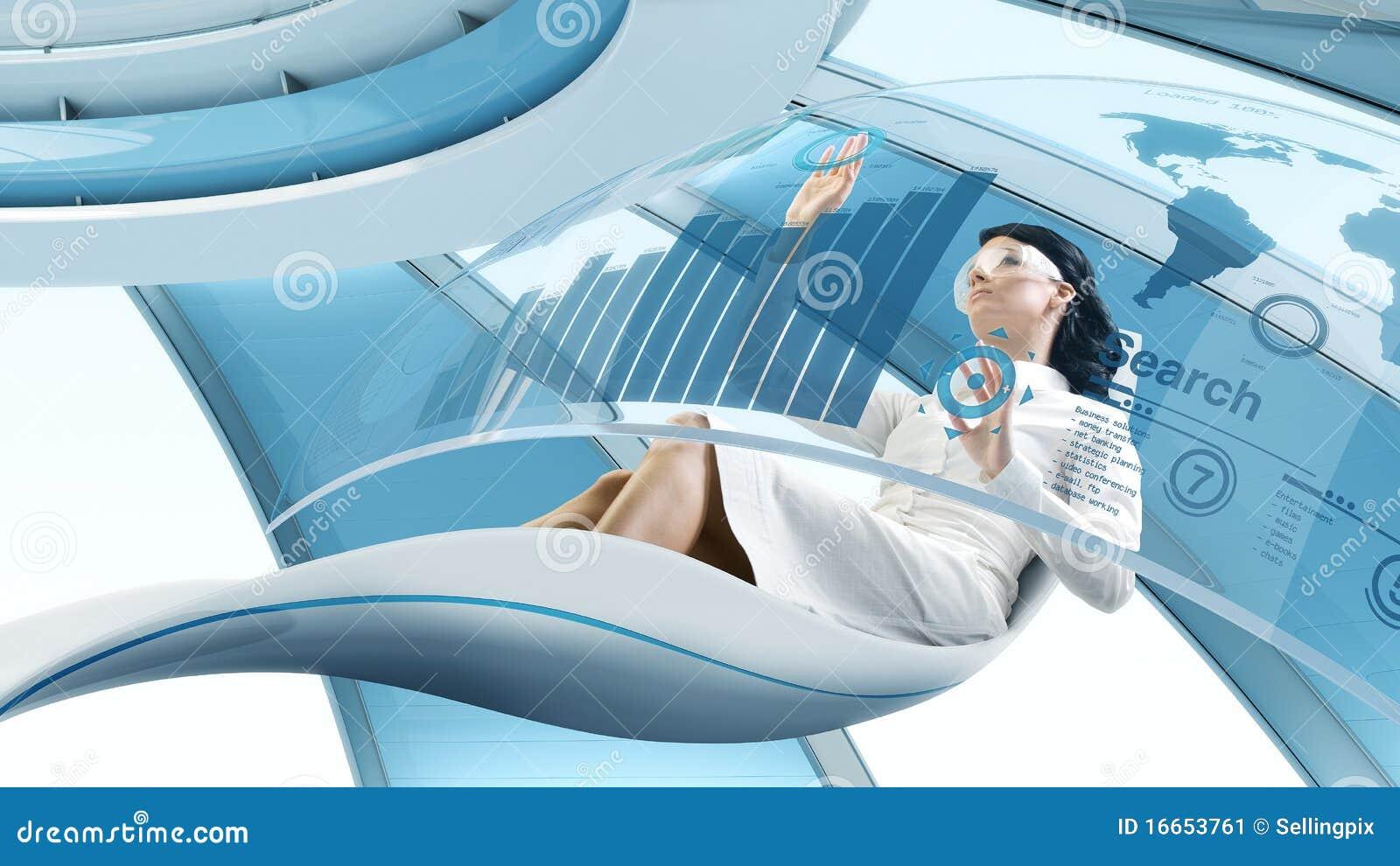 Future Lifestyle Stock Image Image 16653761