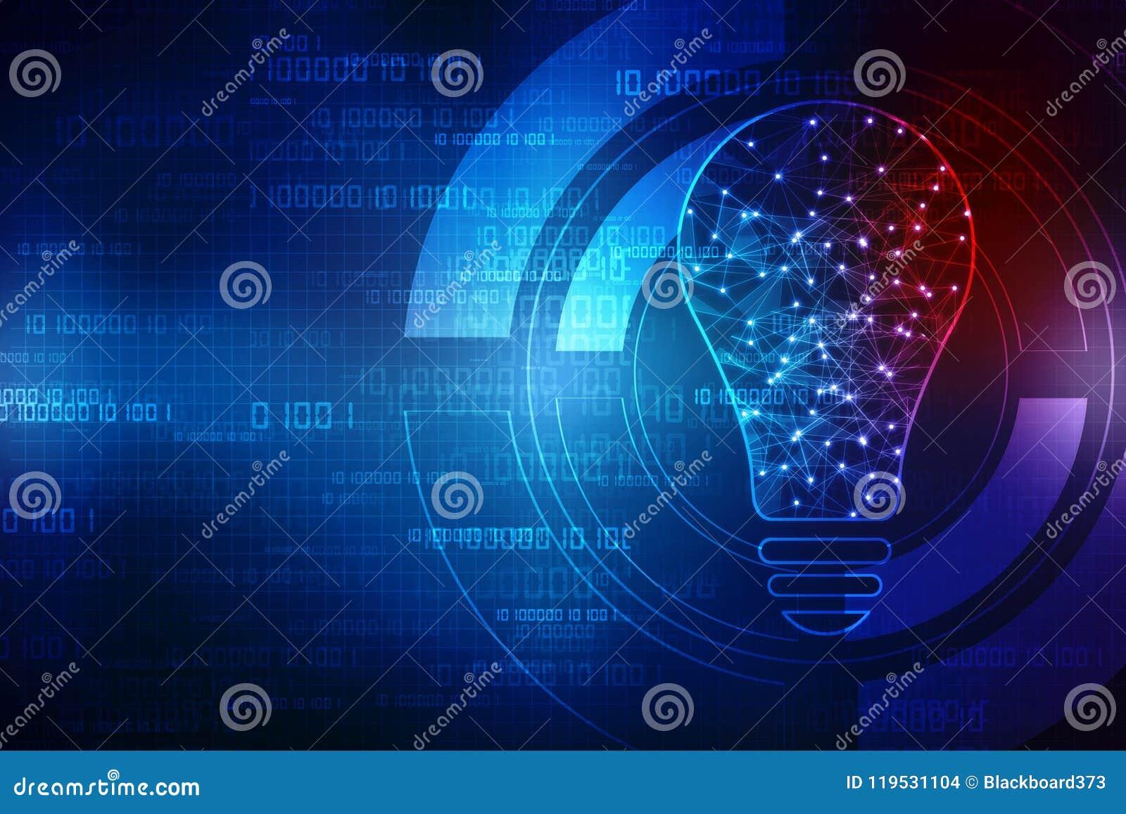 Future technologie, fond d innovation, concept créatif d idée