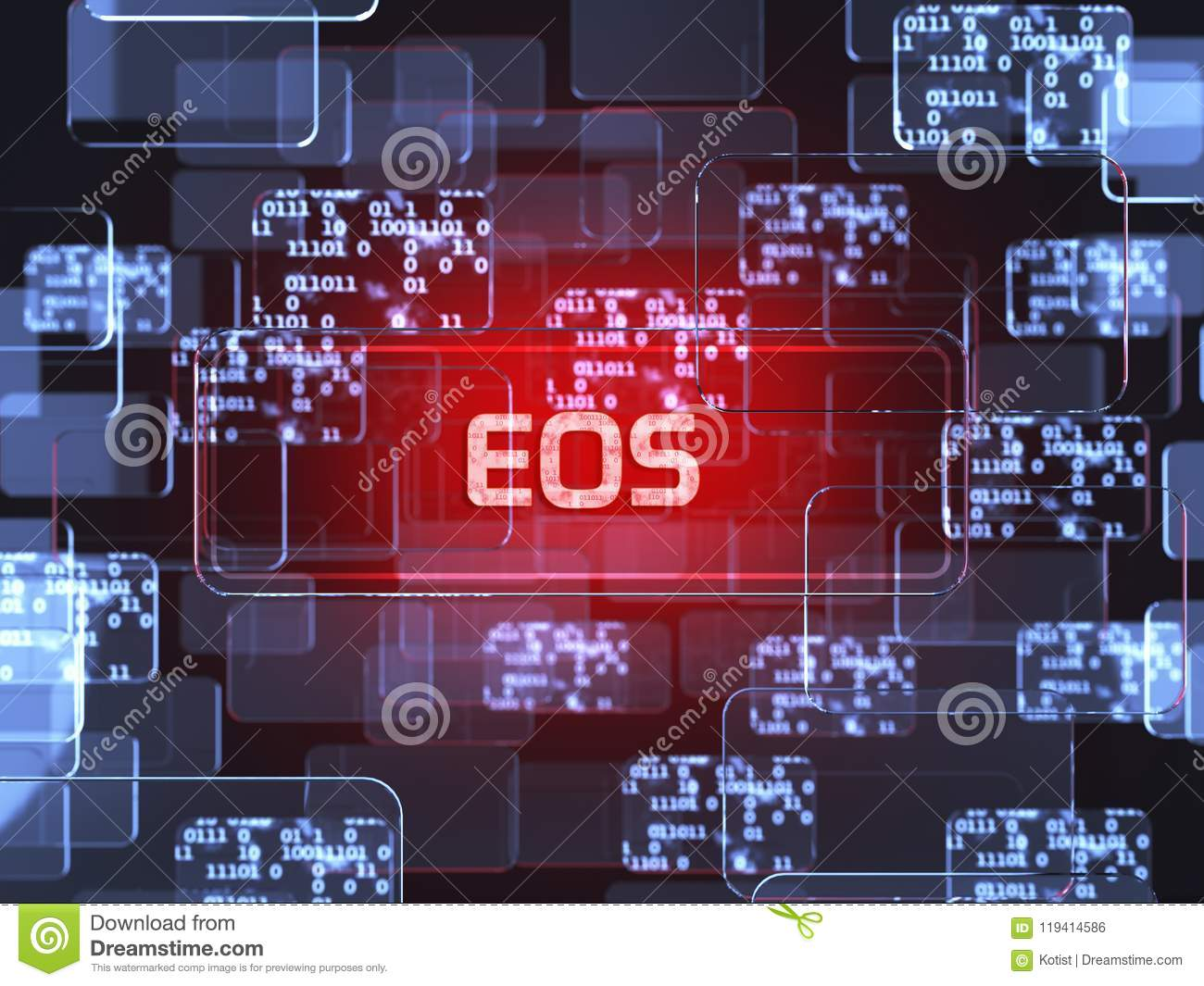 Cryptocurrency EOS