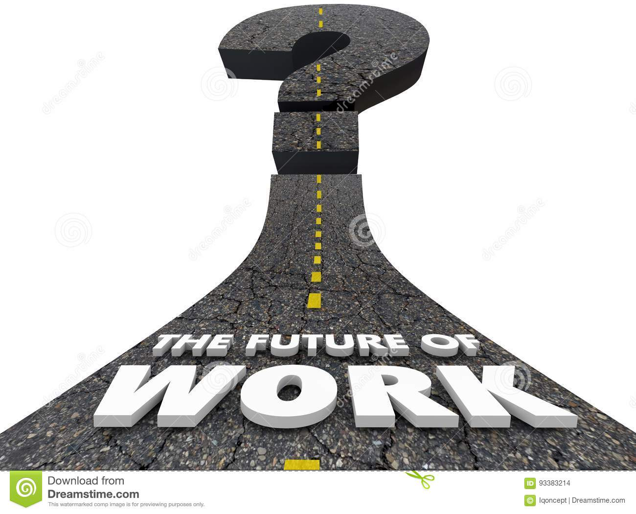 Future of Work Road Jobs Employment Moving Forward