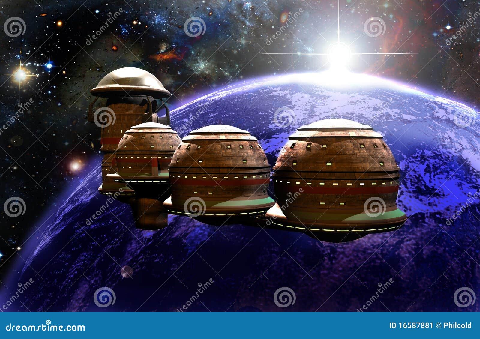 Futurist ISS