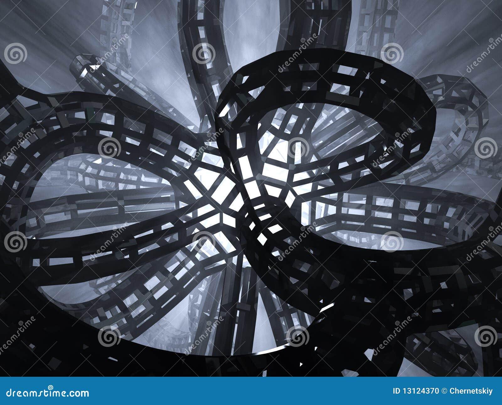 Futuristic Architecture Royalty Free Stock Image - Image: 8901116
