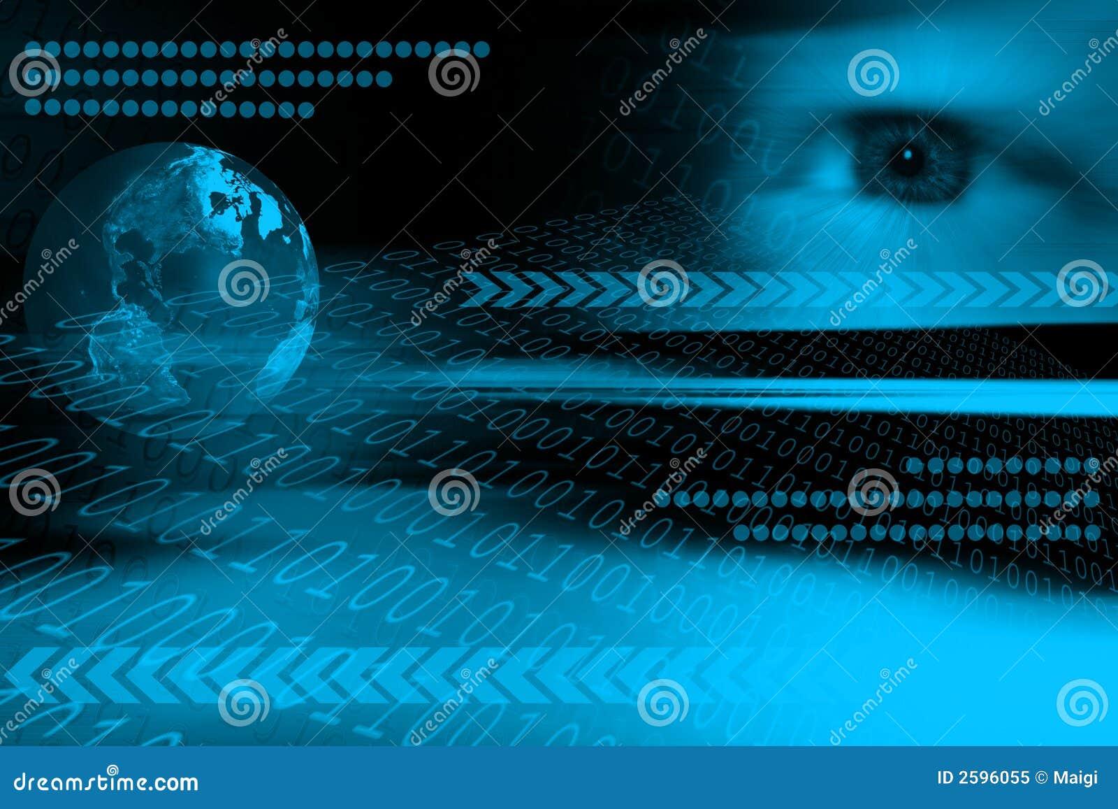 Download Futuristic background stock illustration. Illustration of concept - 2596055