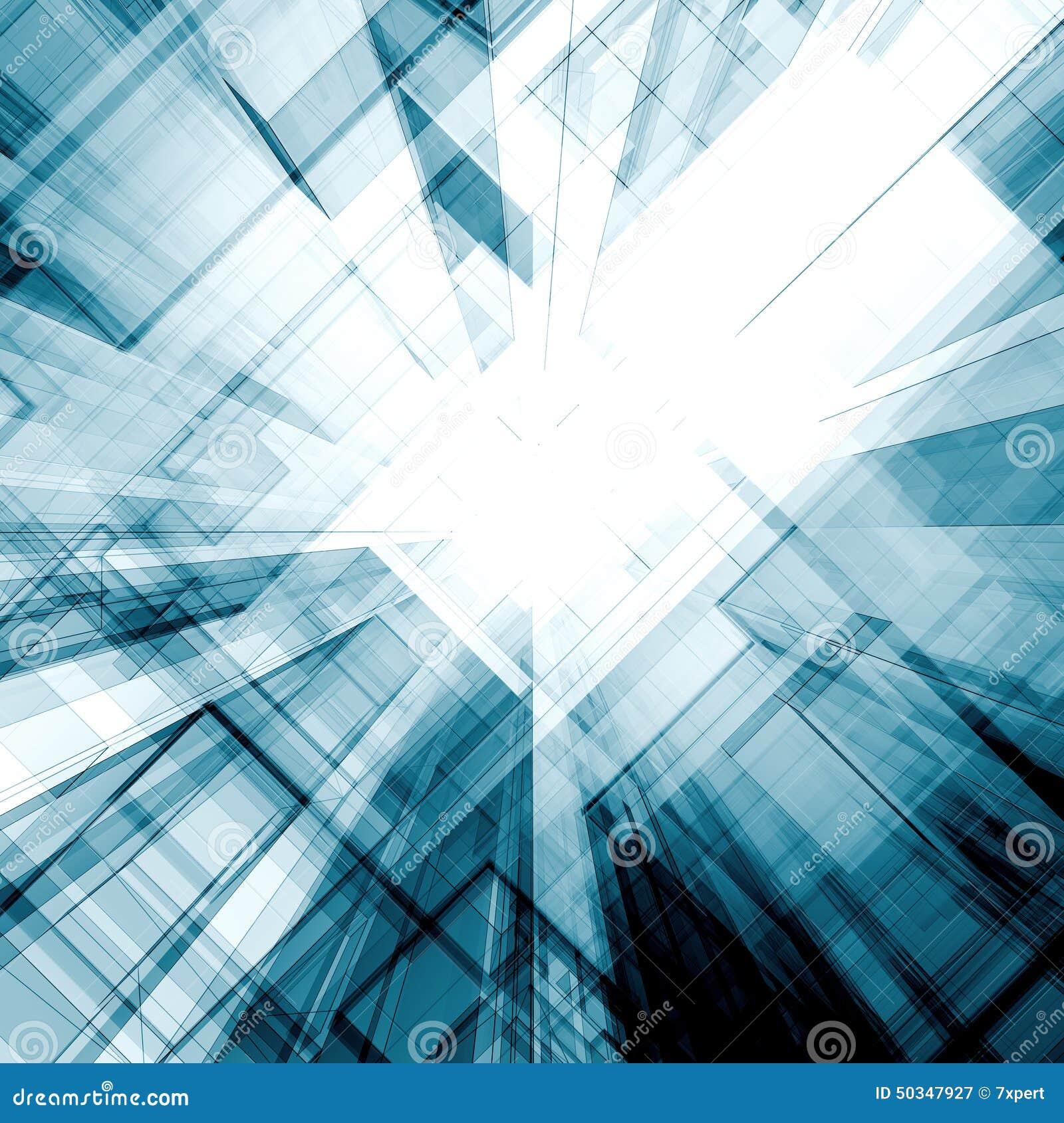 Picture Book Illustration Making An Architectural Model: Futuristic Concept Stock Illustration. Illustration Of