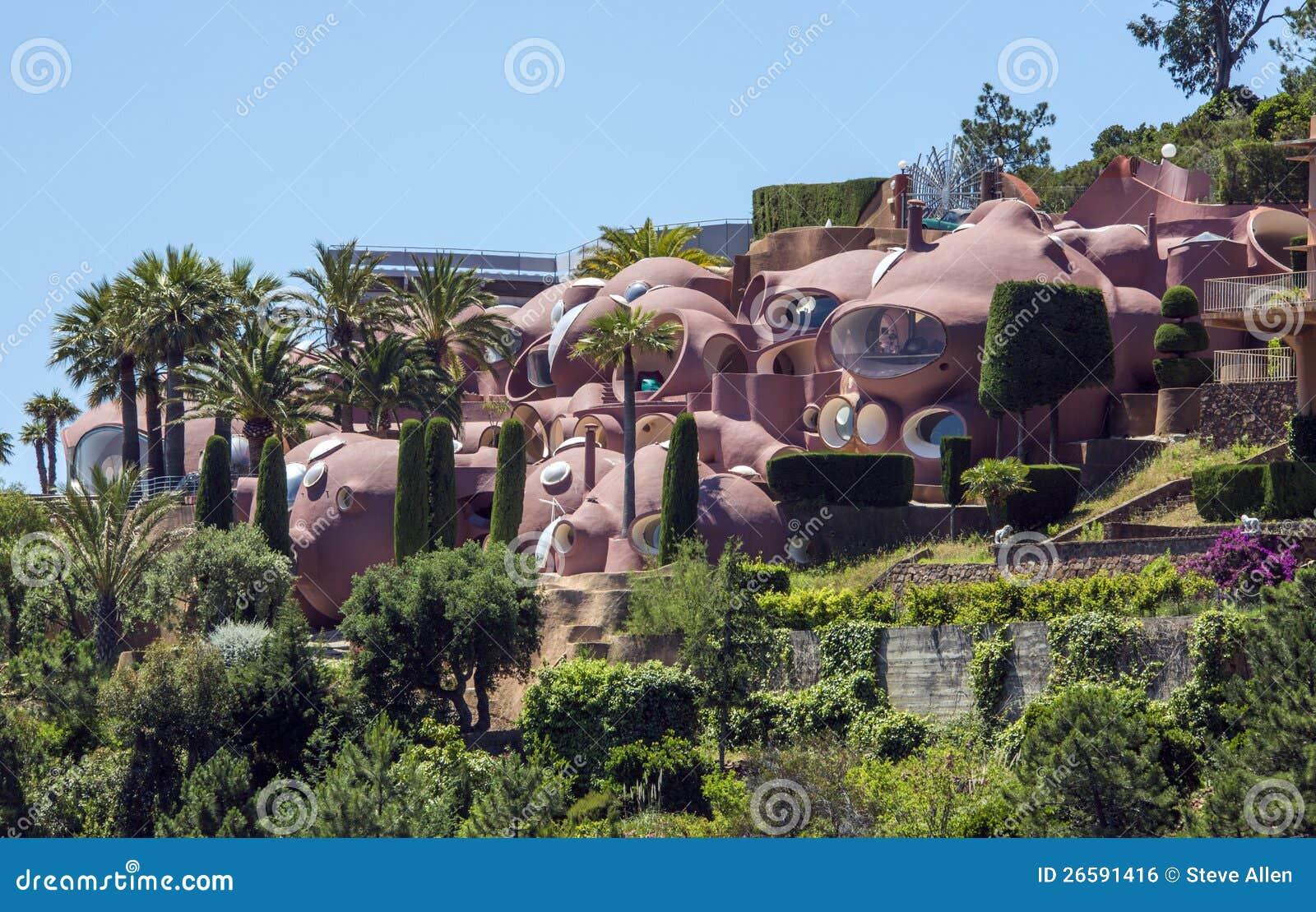 Dreamstime.com & Futuristic House Design - French Riviera Editorial Photo ...
