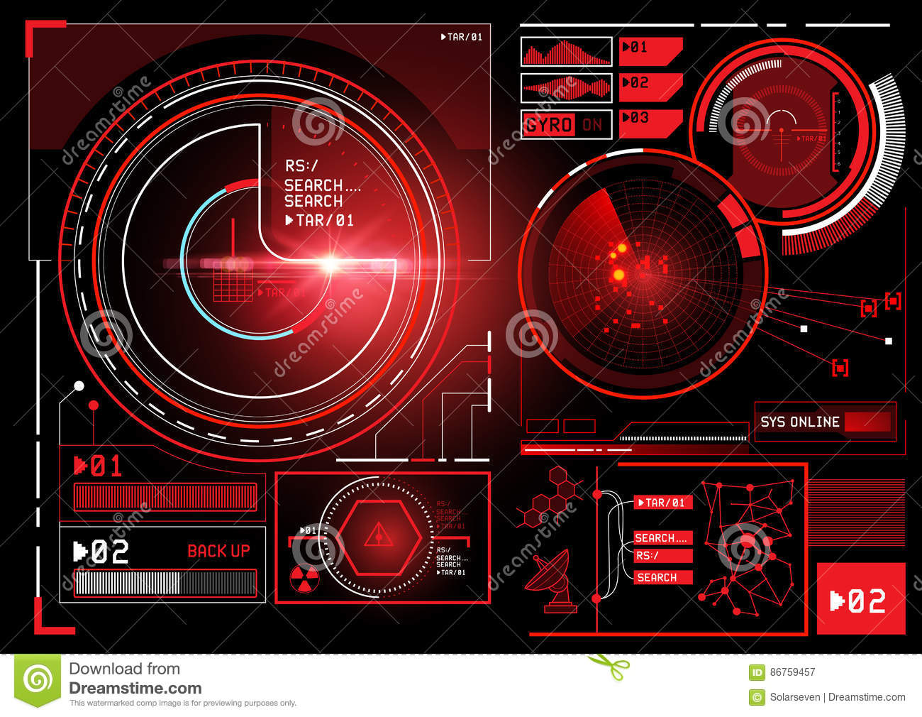 Futuristic Information Interface