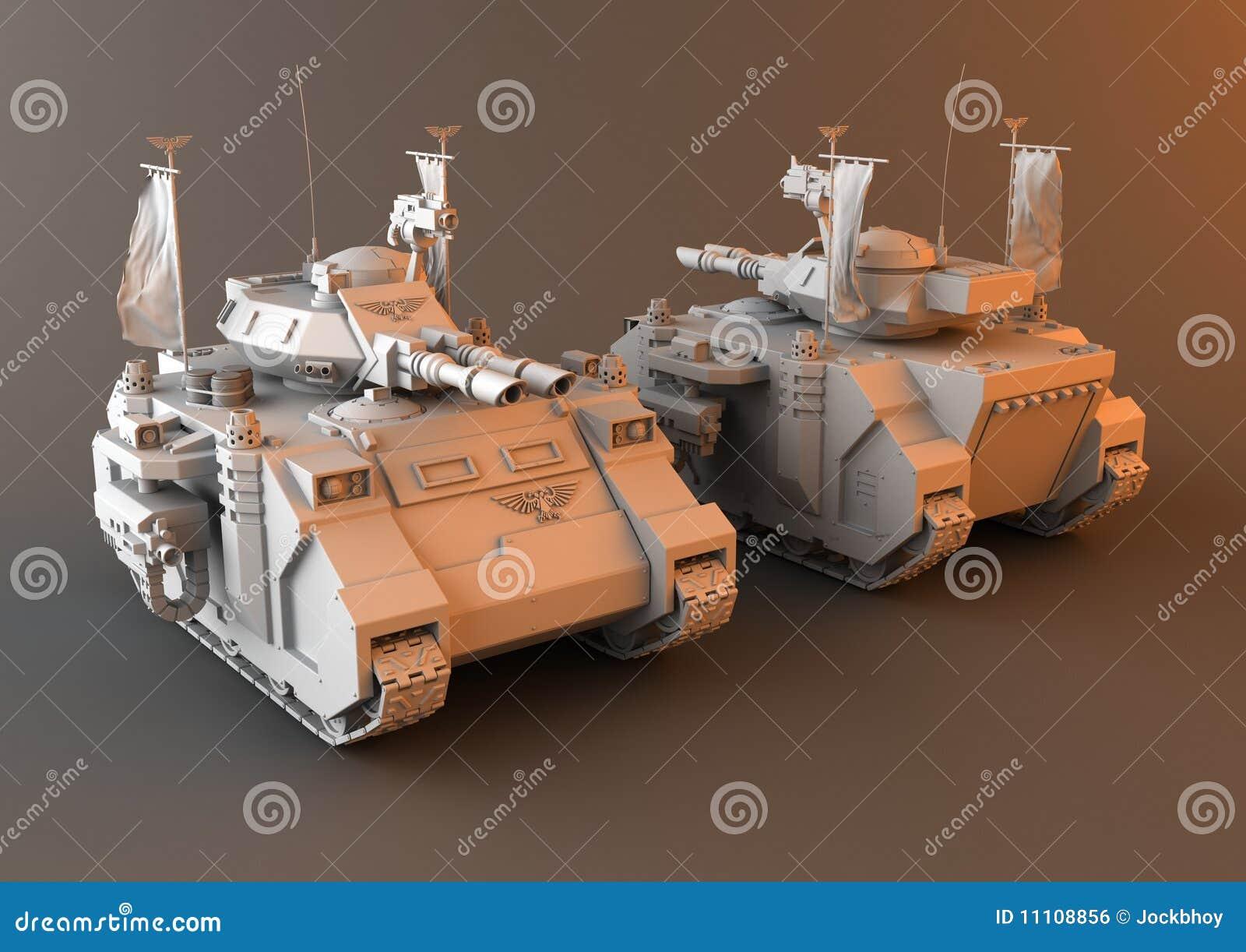 Futuristic Main Battle Tank