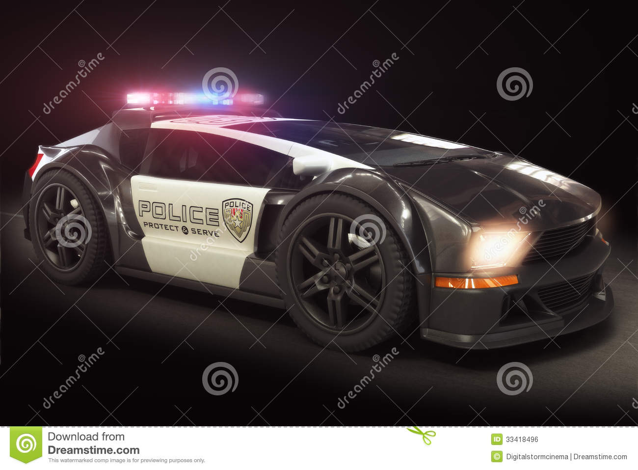 Futuristic Modern Police Car Cruiser Royalty Free Stock ... Futuristic Police Officer