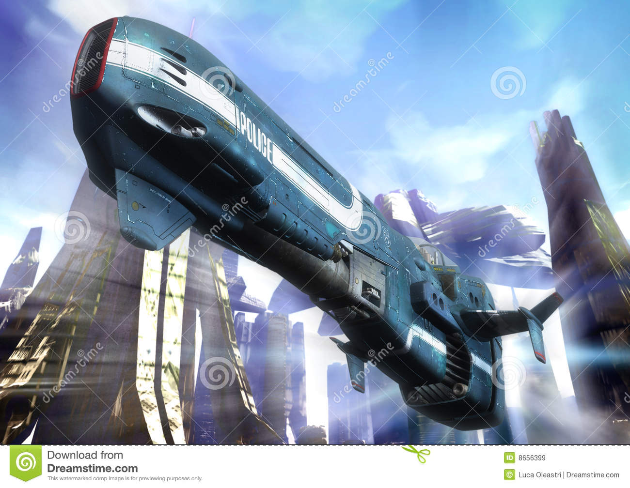 Futuristic Police Royalty Free Stock Images Image 8656399