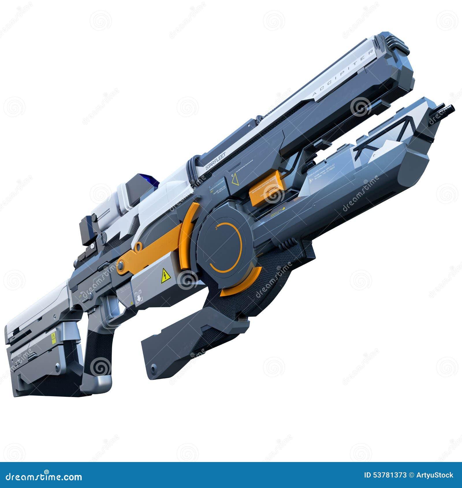 futuristic rifle stock illustration illustration of kriss vector assault rifle Assault Rifle Silhouette