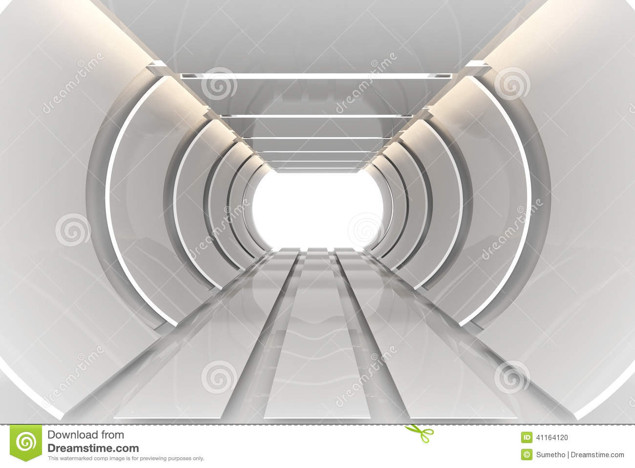 futuristic room stock illustration image 41164120