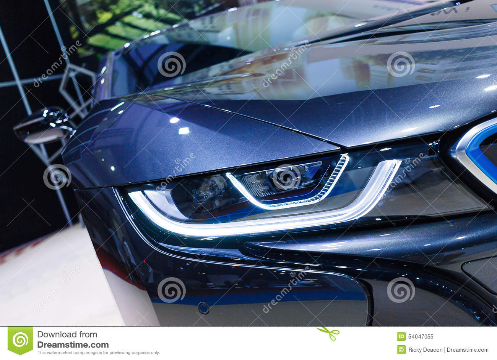 Bmw I8 Stock Image Image Of Closeup Future Electric 54047055