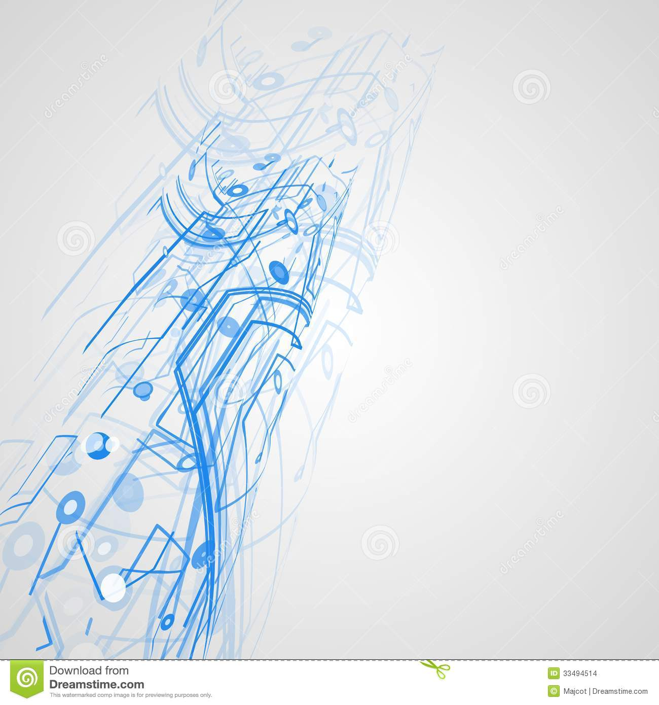 Computer Motherboard Printed Circuit Board Stock Photo Auto Images Image 7251734 Futuristic Technology Illustration