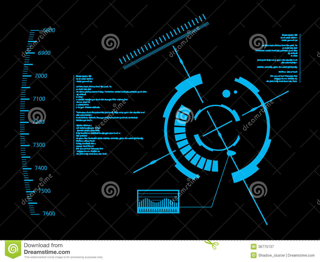 ... User Interface HUD Royalty Free Stock Photography - Image: 36775137: https://www.dreamstime.com/royalty-free-stock-photography...