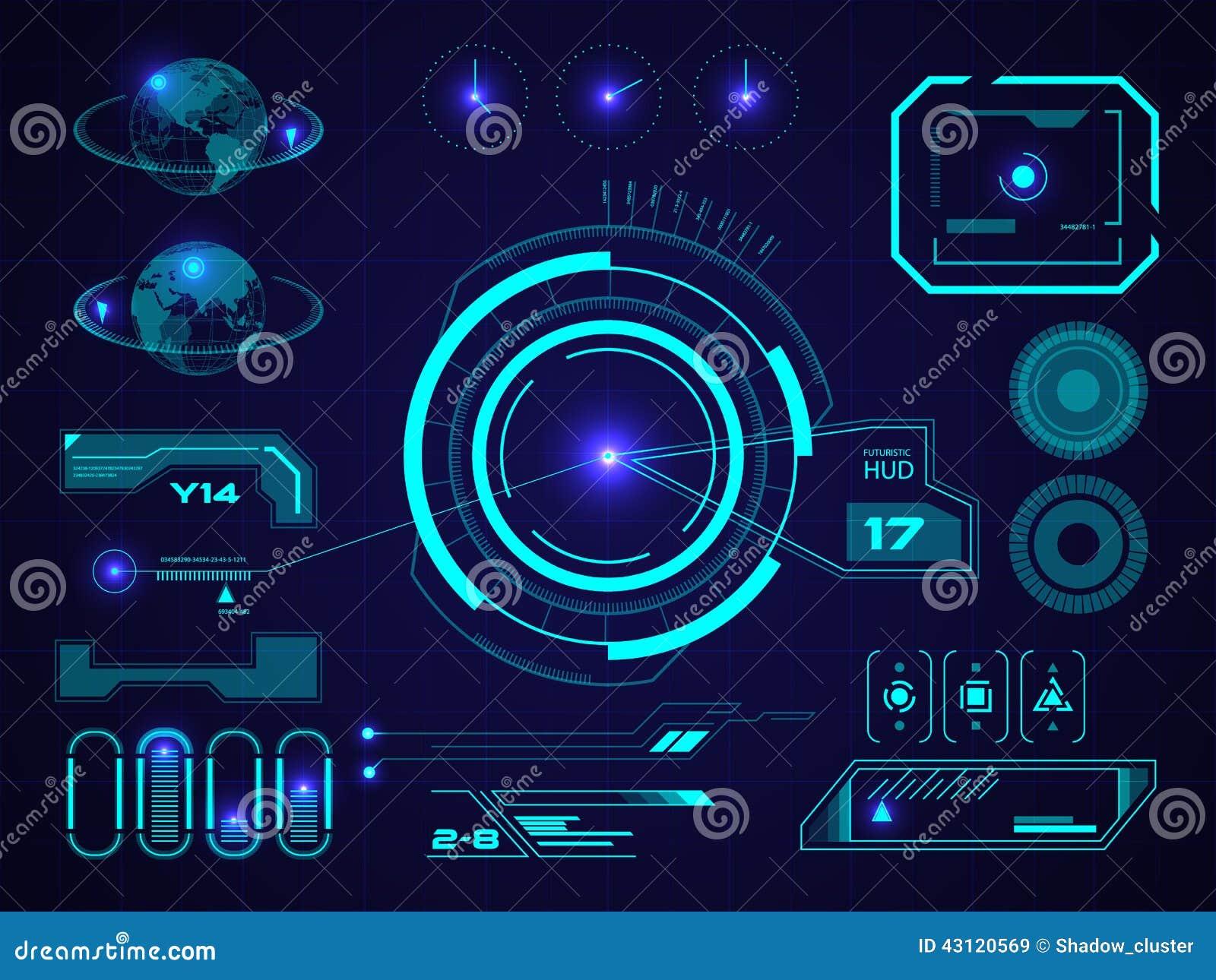 Sci Fi Computer Interface Futuristic User Interf...