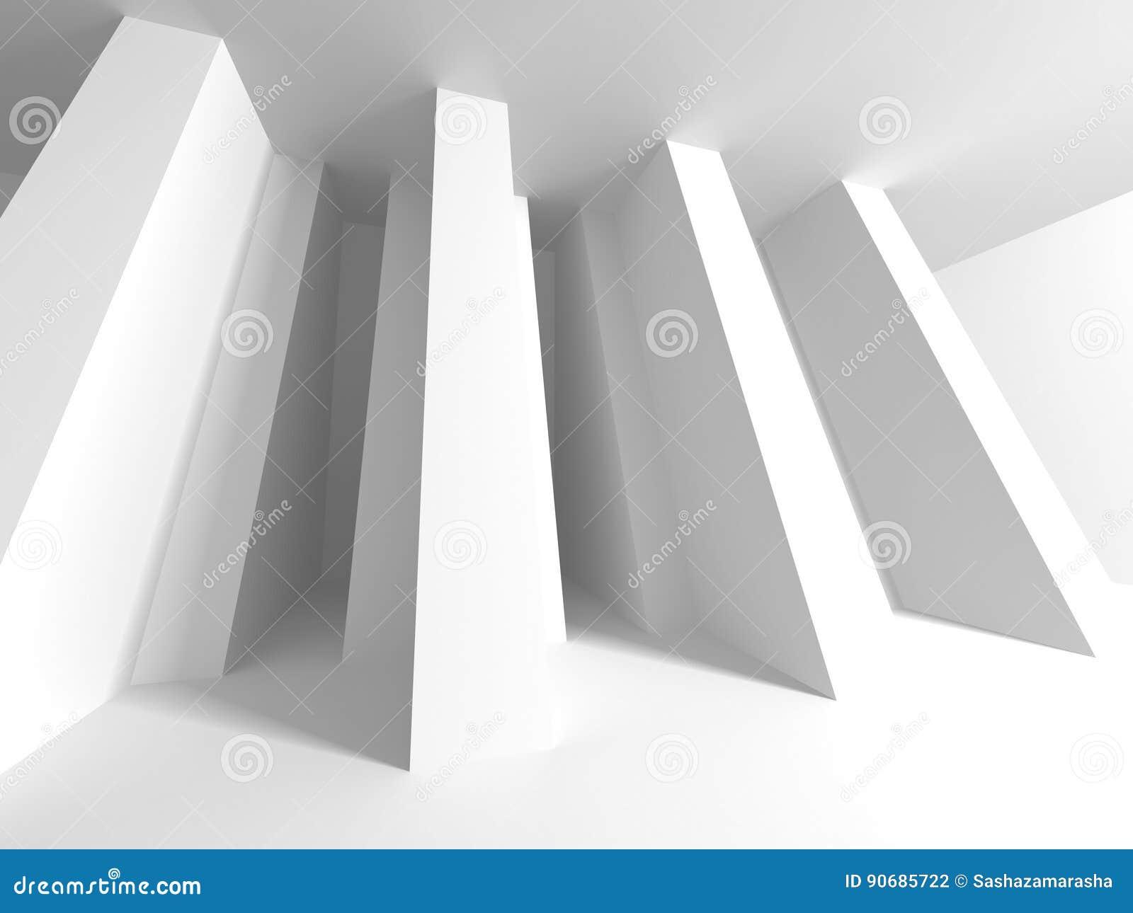 Architecture Design Background futuristic white architecture design background stock illustration