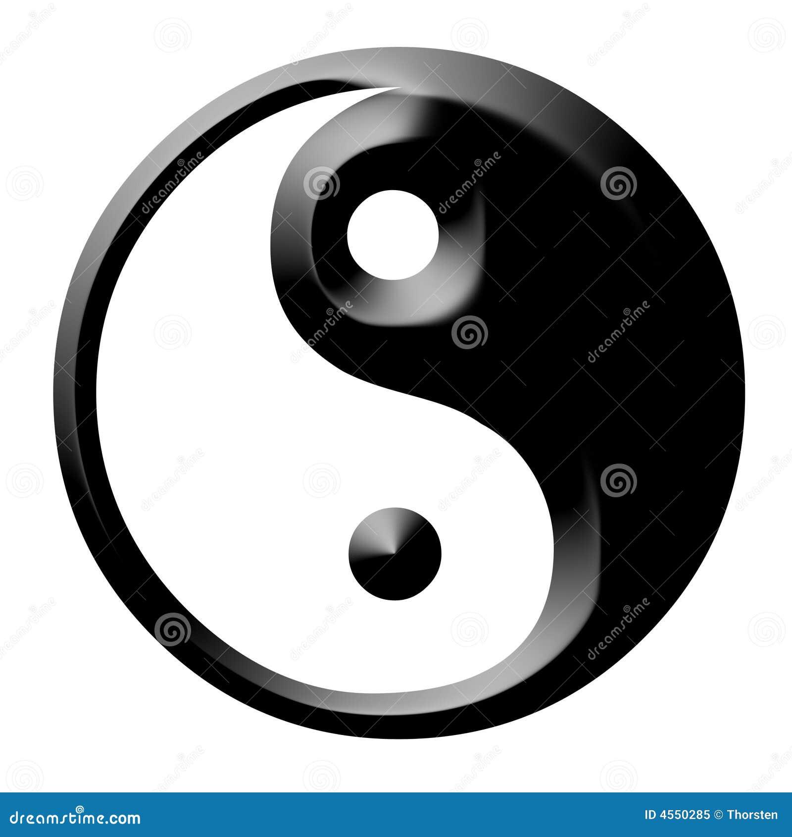 Futuristic yang yin
