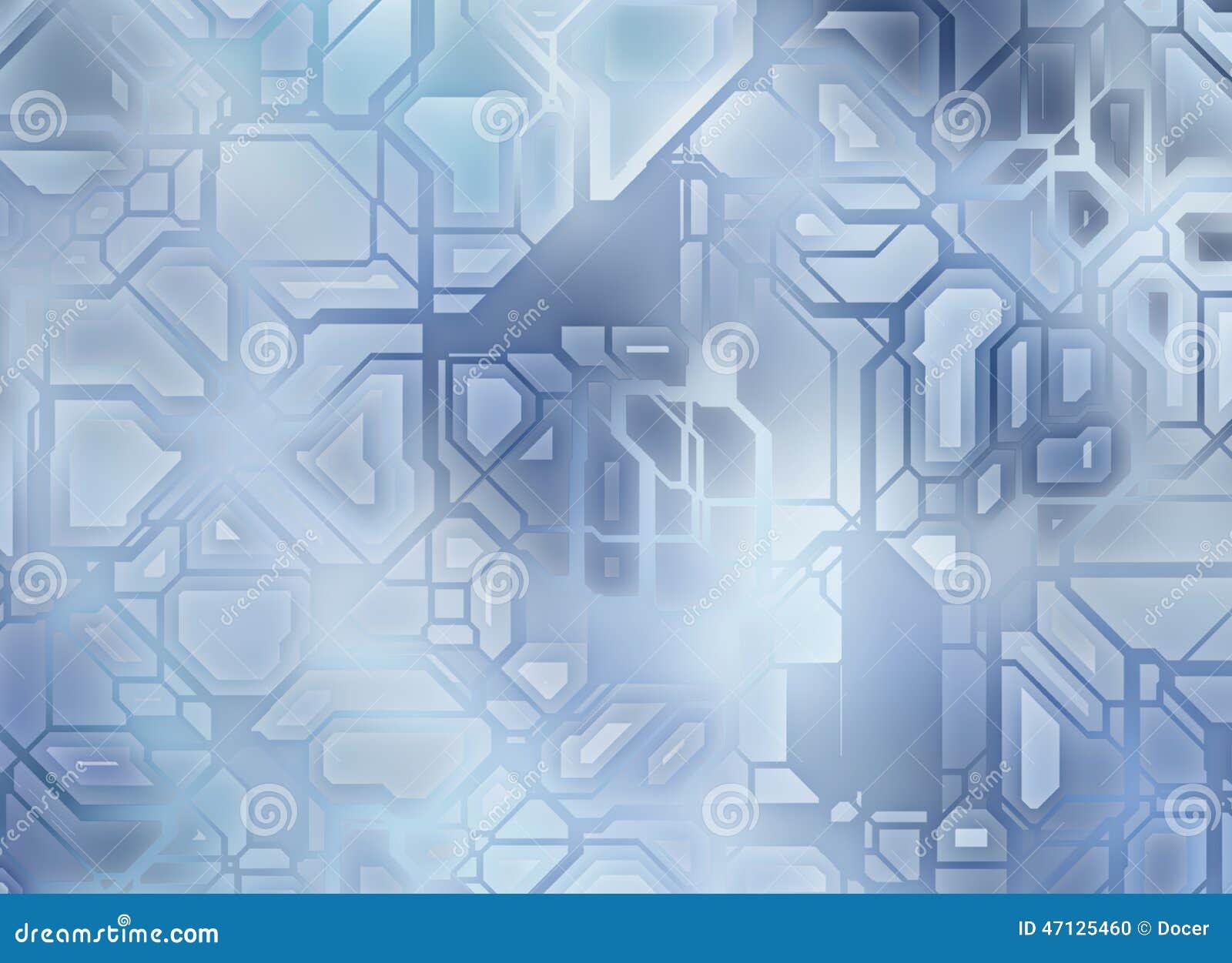 Futuristische abstrakte Technologieganghintergründe digitales glattes textur