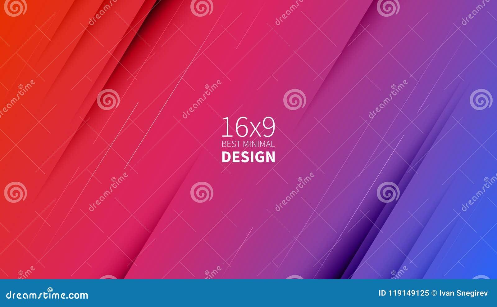 Futuristischer Auslegung-Hintergrund Schablonen für Plakate, Fahnen, Flieger, Darstellungen und Berichte Minimales geometrisches,
